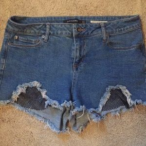 BlackHeart high rise shorts size 11 from Hot Topic